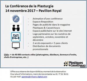 Conférence Plasturgie 112017