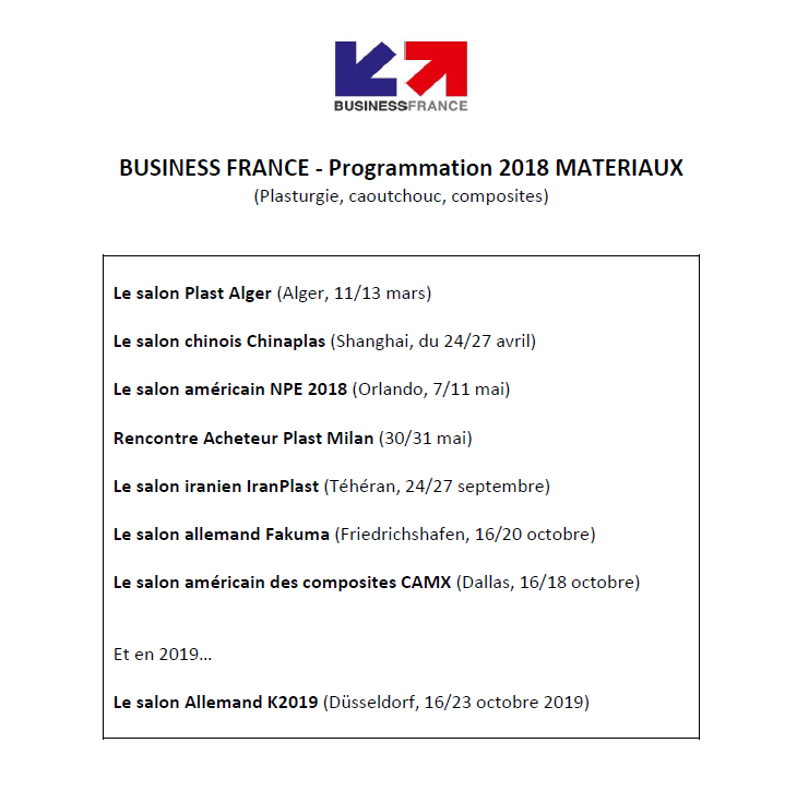 Programmation_Business FRANCE